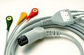 3 Lead ECG Cable with Snap(IEC)